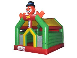 High Quality Clown Inflatable Moon Jumper Inflatable Bounce House For Sale BY-BH-006