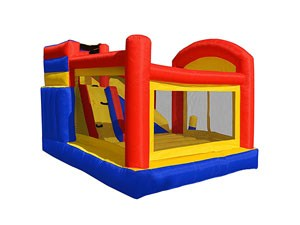 Best quality China inflatable bounce house with slide for sale BY-IC-013