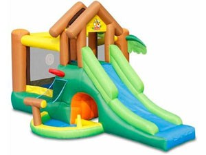 Jungle adventure inflatable bouncer side BY-IC-014