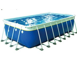 Custom Size Rectangular PVC Frame Pool BY-SP-013