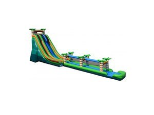 Jungle Theme Giant Inflatable Water Slide BY-SNS-004
