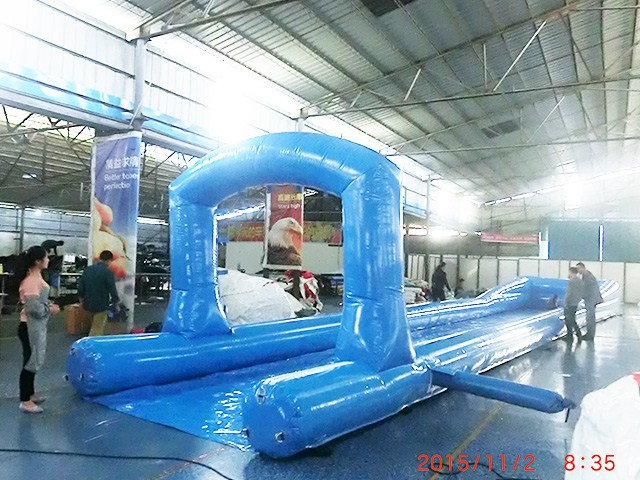 Cheap 30 Meters Long Inflatable Water Slide , Slide The City Price BY-STC-022