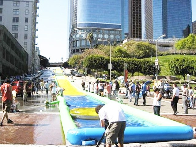 50 Meters Long Water Slide, Slide The City For Adult And Kids BY-STC-021