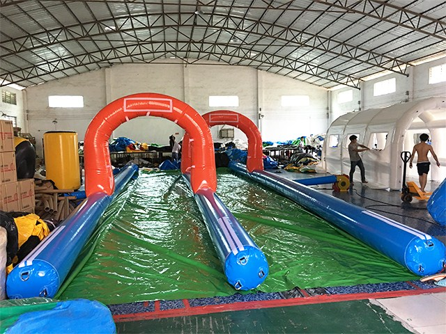Commercial Long Water Slide For Sale, Slide The City Event  BY-STC-012