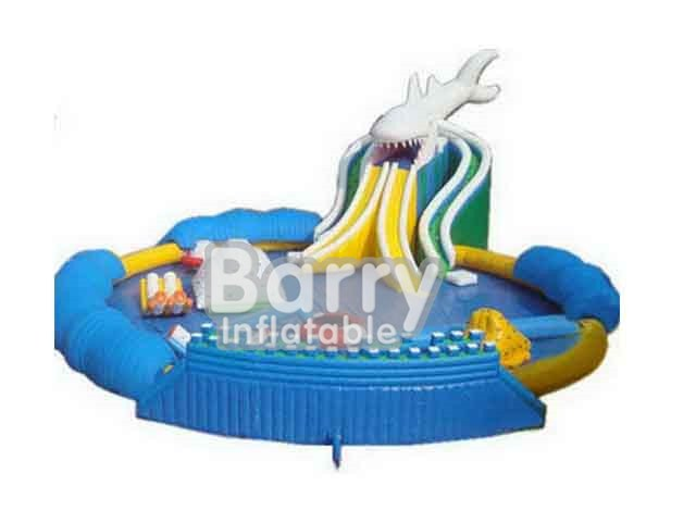 Sharp Portable Inflatable Amusement Park Items For Sale BY-AWP-039