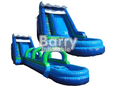 Single Inflatable Wet or Dry Slide For Sale China Factory BY-WDS-002