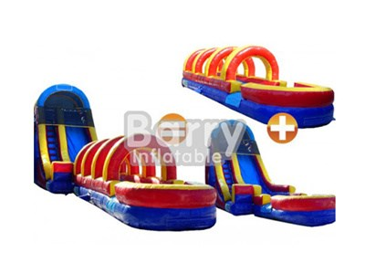 China Inflatable Wet or Dry Slide Slip For Kids And Adults BY-WDS-005