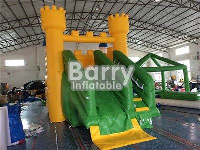 High Quality Children's Water Park Small Yellow Inflatable Slide For Pool BY-WS-077