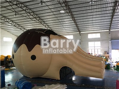 2017 Custom design inflatable water slides for pools BY-WS-079