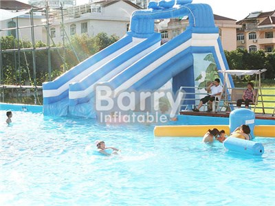 Cheap Inflatable Slide For Metal Frame Swimming Pool BY-WS-082