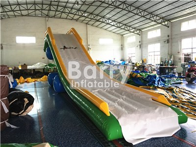 Factory Price Giant Interesting Inflatable Yacht Floating Water Slide for Boat BY-WS-104
