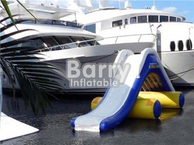 Custom Yacht Inflatable Dock Slide For Sale,Houseboat Slide China BY-WS-108