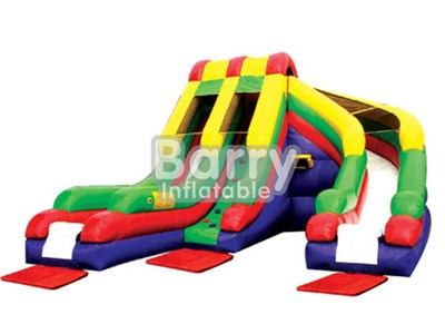 Outdoor Fun Game Inflatable Water Slides Clearance For Pool BY-WS-060