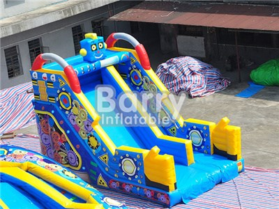 commercial small cartoon inflatable slides for sale BY-DS-002