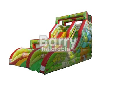 Commercial Grade Forest Inflatable Dry Slides For Sale BY-DS-074