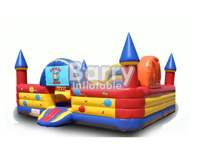 CE-Certificated New Indoor Inflatable Playground China Factory BY-IP-004