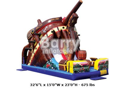The playground inflatables , treasure island pirate ship playground price BY-IP-007