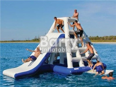 Factory Supply Giant Inflatable Floating Water Slide From China For Sale BY-WS-110