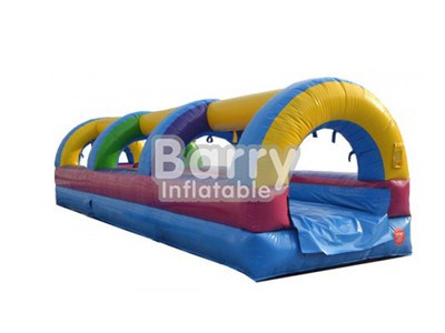 Custom Made Single Lane Slip And Slide Water Slides Guangzhou BY-SNS-007