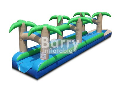 Jungle Inflatable Slip And Slide , Backyard Slip N Slide For Kids BY-SNS-008