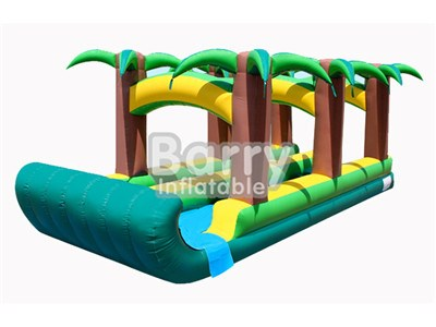 Commercial Make In China Jungle Inflatable Water Slip And Slide BY-SNS-009