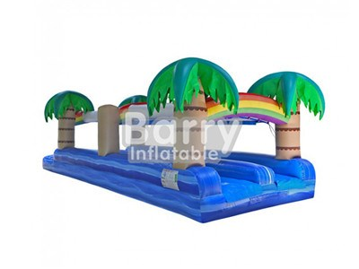 Custom Inflatable Slip N Slide Water Slide, Giant Slip And Slide For Adults And Kids BY-SNS-010