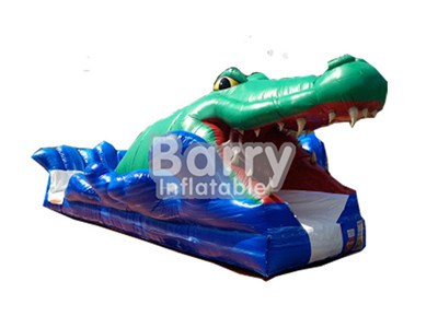 Outdoor Game PVC Small Sharp Inflatable Tarpaulin Slip N Slide For Kids BY-SNS-012