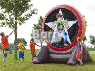 New Star Inflatable Football Dart Board , Inflatable Soccer Dart Game, Inflatable Foot Darts Game For Sale BY-IS-024