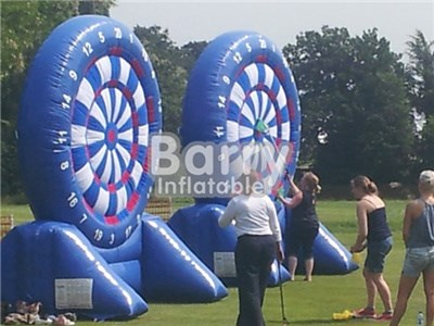 Giant outdoor inflatable foot dart board /inflatable human dart for kids and adults BY-IS-029