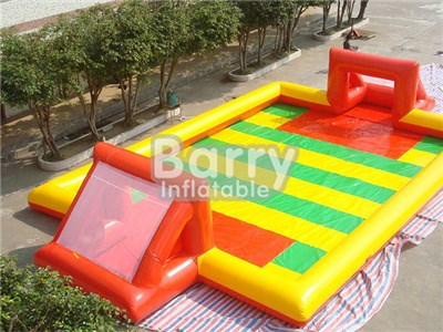 Cheap Price Inflatable Soap Football Field,Inflatable Water Soccer Field For Sale  BY-IS-002