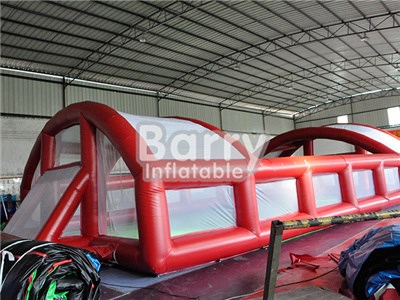 Inflatable footble arena/inflatable football pitch/inflatable soccer arena BY-IS-023