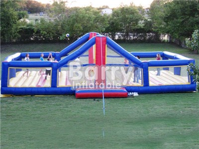 Giant Lawn Inflatable Volleyball Court For Sale,Inflatable Volleyball Field BY-IS-015