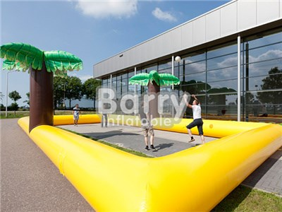 Commercial Grade Inflatable Beach Volleyball Court Manufacturer BY-IS-035