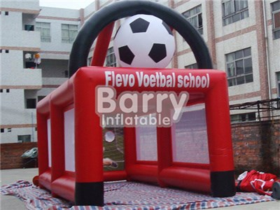 Factory Direct Inflatable Speed Soccer Shooter,Inflatable Sport Game Inflatable Soccer Goal For Kids  BY-IS-048