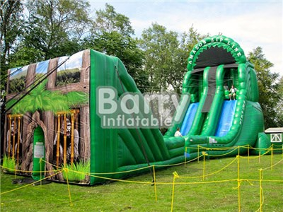 Crazy Inflatable Games For Adult,Inflatable Interactive Adult Game,Large Inflatable Zip Line  BY-IS-007