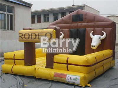 Cheap Mechanical Bull Price,Farm Inflatable Bull Mechanical For Sale BY-IS-054