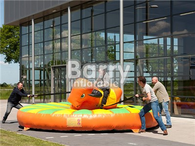 Commercial Kids And Adult Bull Riding Machine Inflatable Mechanical Bull For Sale BY-IS-055