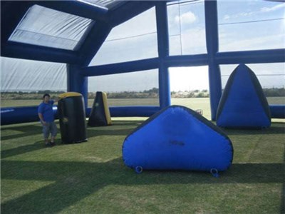 Professional Inflatable Paintball Manufacturer ,Inflatable Paintball Bunker for Shooting With Tent BY-IS-066