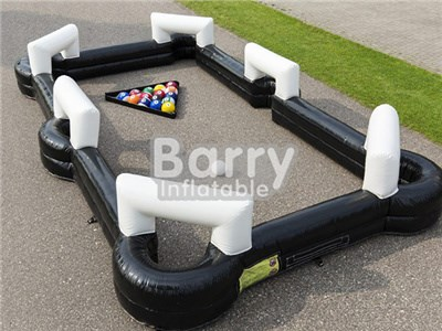 Outdoor Giant Snooker Football Inflatable Human Billiards,Soccer Billiards  BY-IS-045