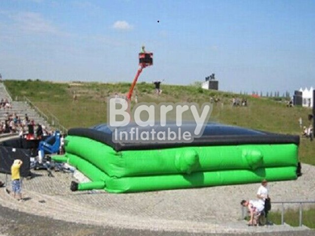 China factory outdoor sports game, inflatable air jump bag for sale BY-IG-001