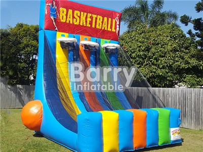 0.55 PVC Tarpaulin Outdoor Giant Inflatable Basketball Hoop With Factory Price BY-IG-018