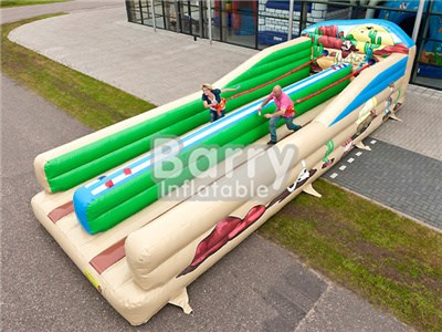 China Barry 0.5mm PVC Adult /Kids Bungee Run Inflatable For Sale BY-IG-020