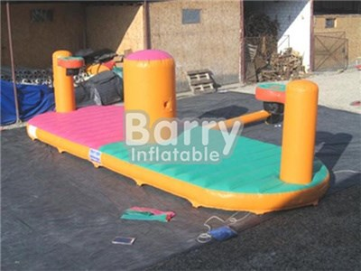 Factory Direct bungee games basketball equalizer,inflatable bungee run price BY-IG-023