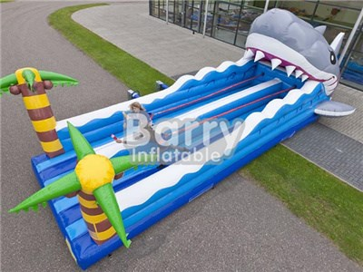 Best selling shark bungeerun inflatable,inflatable bungee run for sale BY-IG-003