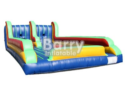 Popular commercial bungee run,inflatable bungee run with twister game for sale BY-IG-025