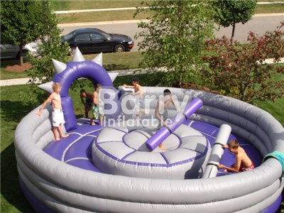 Factory Various Inflatable Sport Arena ,inflatable Amusement Park For Kindergarten BY-IG-026