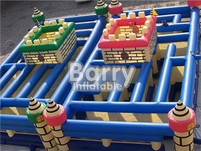 children's play maze game inflatable/ inflatable maze with cheap priceBY-IG-034