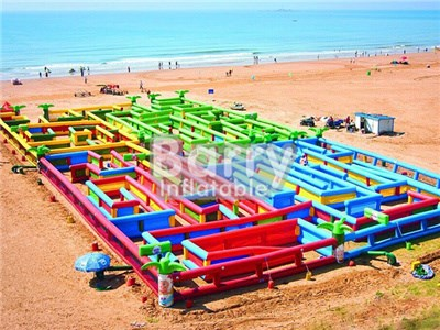 Giant Inflatable Maze, Giant Inflatable Maze Suppliers And Manufacturers At China BY-IG-006