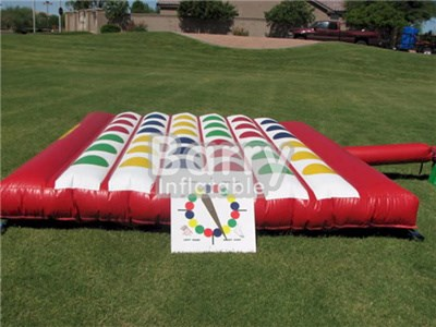 Adult Kids Giant Inflatable Twister Game,Inflatable Twister Mattress,Inflatable Twister For Sale BY-IG-009