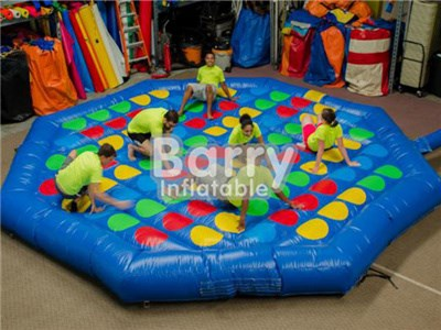 Inflatables Juegos Deportivos Outdoor Giant Twister Con Material de pvc Durable BY-IG-041